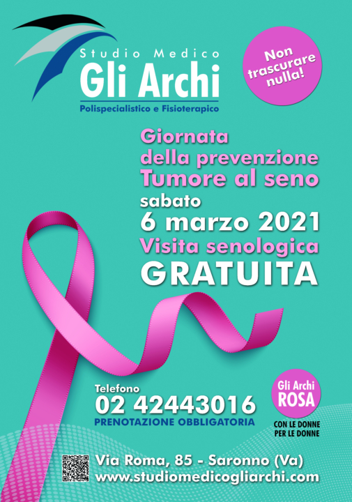Volantino promozione Festa della Donna - STUDIO MEDICO gli Archi