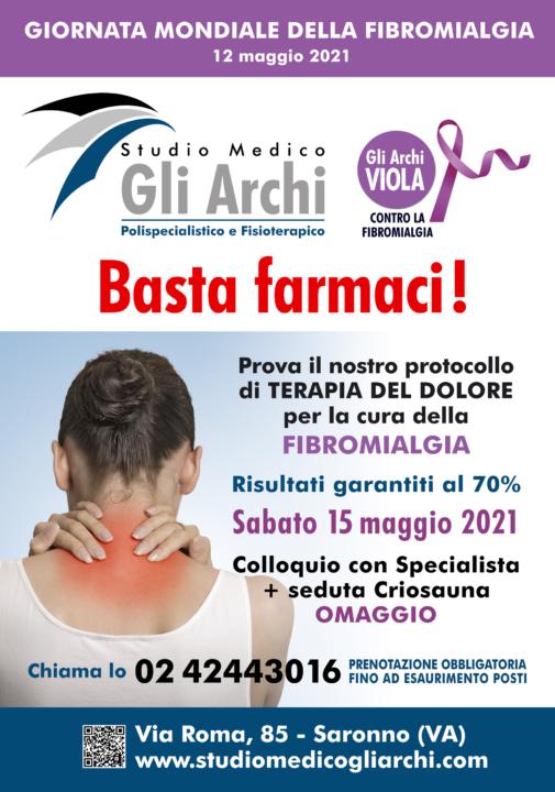 Manifesto Fibromialgia - STUDIO MEDICO Gli Archi