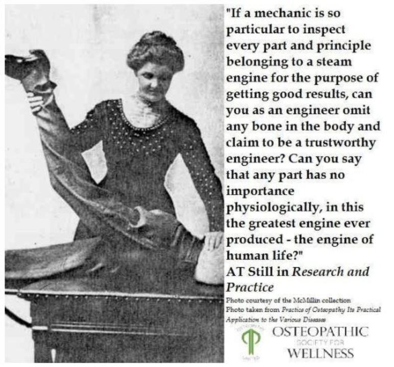 Le origini della terapia manuale